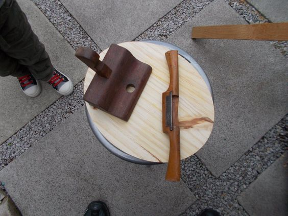 vintage mahogany hand router and wooden spoke shave   eBay