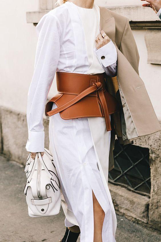 Как носить белый этой весной | Мода | STREETSTYLE | VOGUE