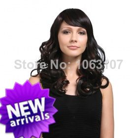 Fashionable Celebrity Hairstyle Long  Wig about 20 Inches 100% Human Hair (Free Shipping) $147.00