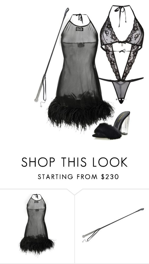 """Untitled #6391"" by stylistbyair ❤ liked on Polyvore featuring Dolce&Gabbana and Agent Provocateur"