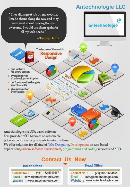 Custom Wordpress Website Design Company Usa Antechnologie Website Design Company Web Design Web Design Infographic