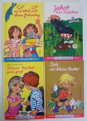 gebrauchtes Buch – M. Potthoff / Helga Weichert / Vera Münchow / Käthe Theuermeister – 4 Bücher aus der Reihe