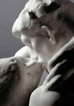 Auguste Rodin - The Kiss (1882) | this was one of my favs at the Rodin Museum