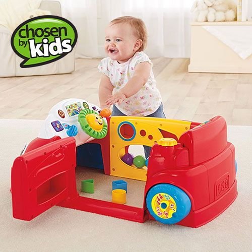 fisher price laugh learn crawl around car development learning toys walmart