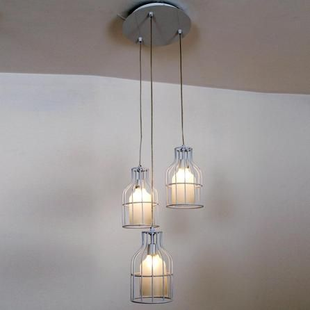 louisa 3 light cage cluster fitting dunelm make up. Black Bedroom Furniture Sets. Home Design Ideas