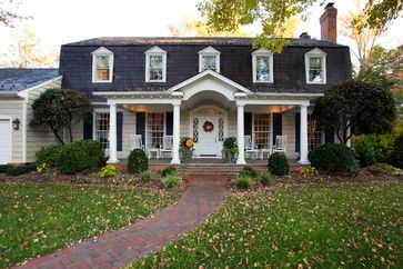 Mansard roof design ideas pictures remodel and decor page 6 beautiful homes exterior - Engaging home exterior decoration using mansard roof design ...