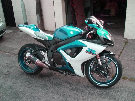 New Colours!! Gsxr 600 Experiments! : Suzuki GSX-R Motorcycle ...