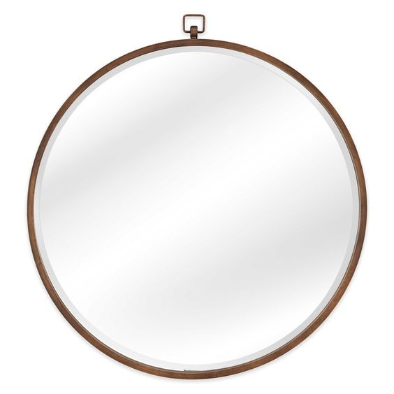 Bassett Mirror Company 36-Inch x 36-Inch Quinn Wall Mirror