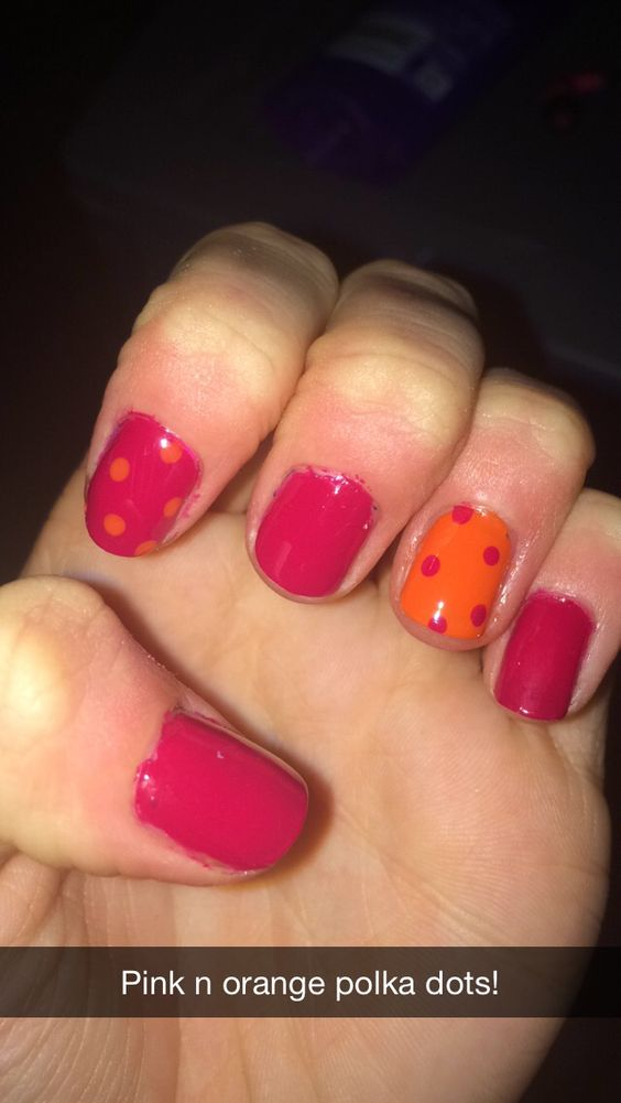 Summer Colours ~ Roarrrrange, Plumberry by Essie Nail Art | Nails ...