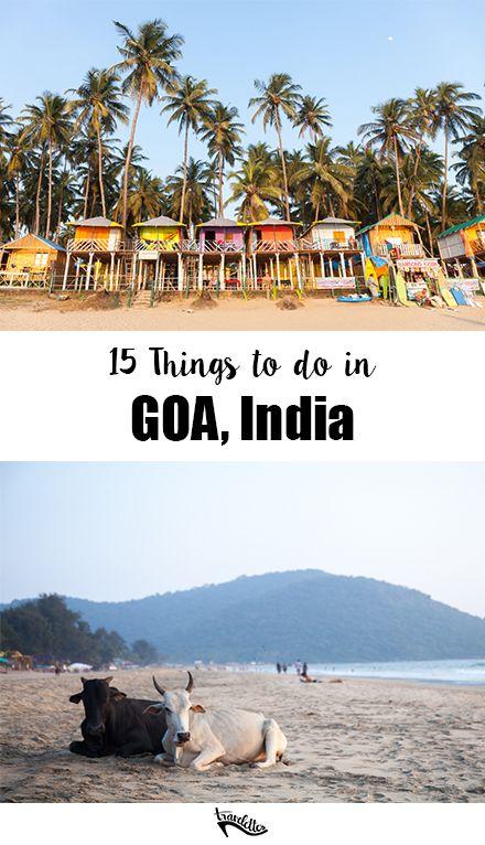 15 Things to do in Goa, India | Travelettes