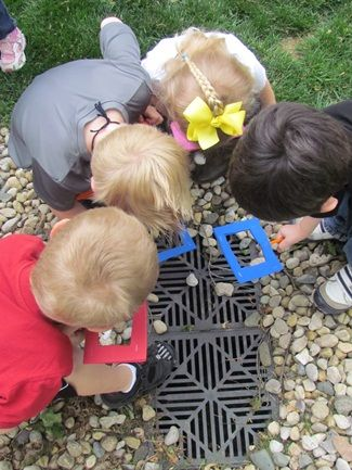Outdoor window walk...a simple way to draw children's attention to details in the outdoor environment