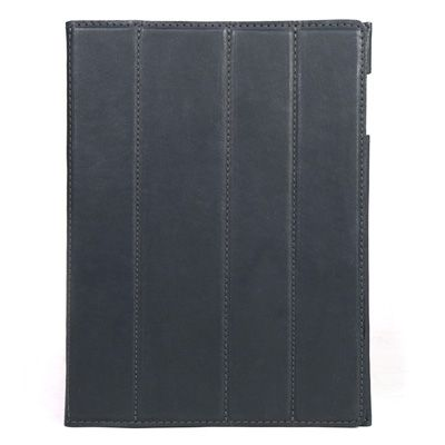Our iPad 3 Smart Cover in matte Lead Black leather $295