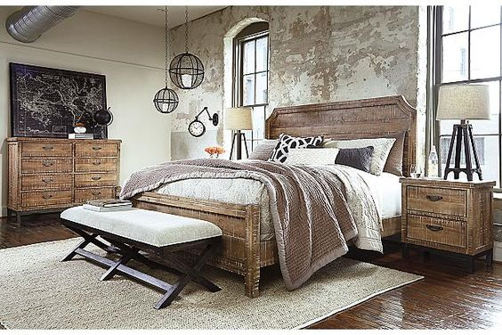 Must Have This Whole Bedroom Set Is What I Have Been Looking For Love Light Brown Fanzere