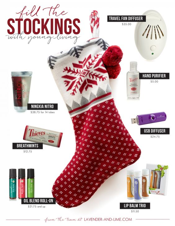 healthy essential oil gift ideas, under $40, Young Living | In the ...