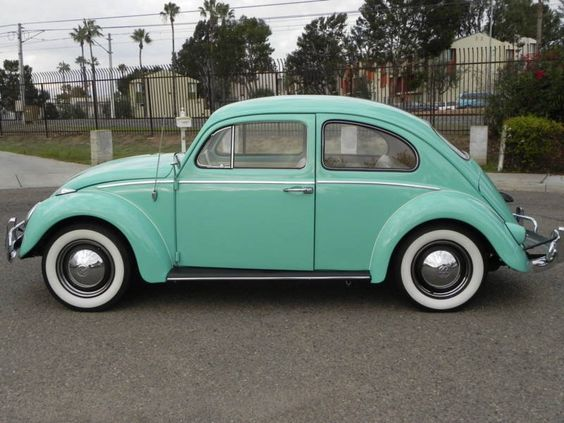 Tiffany Blue Beetle... Love! | My Volkswagen Bug Obsession ...