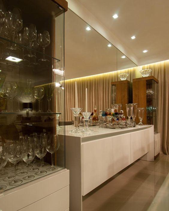 Buffet Para Sala De Jantar Imagens ~ Para a sala de jantar, optamos por uma composição simétrica com