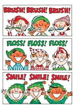 Dental Christmas Card