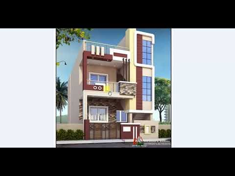 Latest Modern House Design With Floor Plan House Design House Front Design Latest House Designs