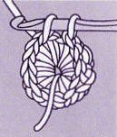 Nous vous présentons ici 2 façons de réaliser un bouton : Le bouton sur anneau Le fil est crocheté sur un anneau en palstique. Commencez par faire un noeud coulant. Piquez le crochet dans l'anneau pour former chaque maille et recouvre-le de mailles serrées?...