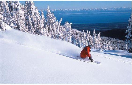 Go west skiers. Mt. Washington is forecasting more snow. #mountwashington #snowreport #vancouverisland #skiandsnowguide