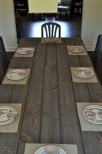 How to make a Farmhouse Table!