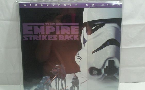 Star Wars The Empire Strikes Back Widescreen THX Edition LaserDisc LD