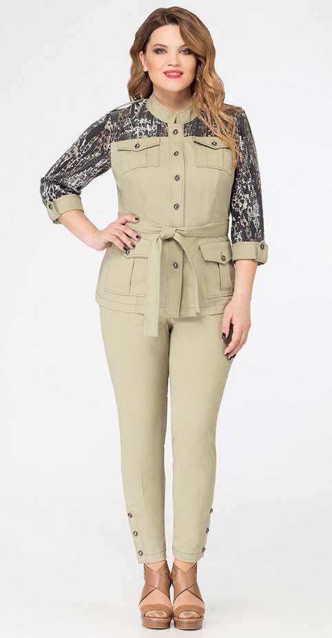Коллекция женской одежды больших размеров белорусской компании LaKona лето 2019