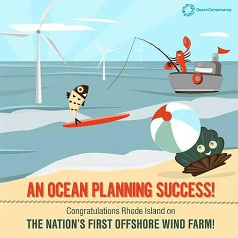 Ocean Conservancy | Congratulations Rhode Island for the nation's first wind farm