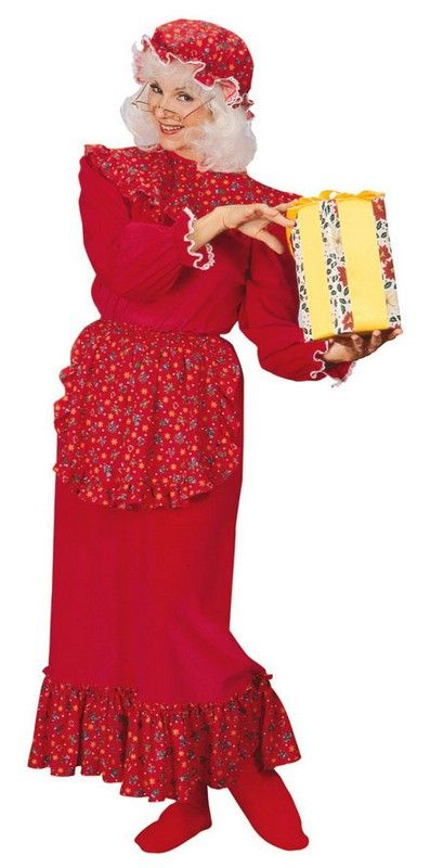 Christmas costumes mrs claus costume mob cap
