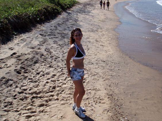 Vivendo a Vida bem Feliz!: Corrida na areia da praia é muito saudável!