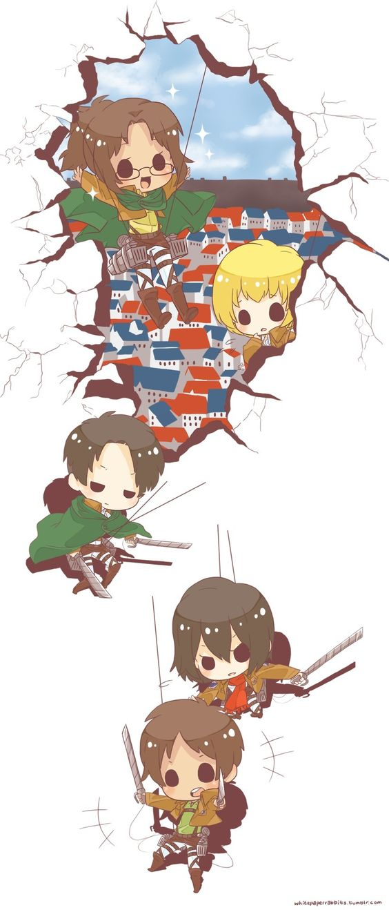 Attack on titan anime, Cute chibi and So cute on PinterestAttack On Titan Levi Chibi Cute
