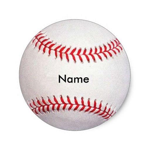 Baseball Name Tags Template Baseball Sticker Name Tag Templates Name Tags