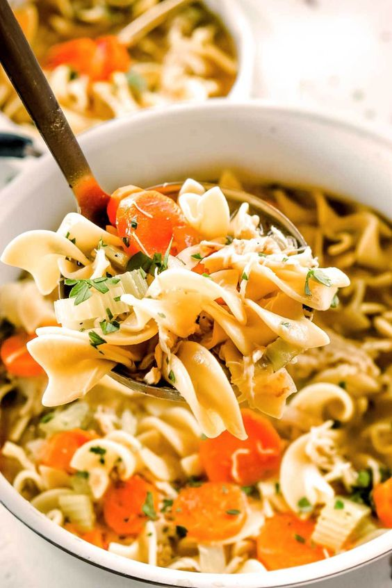 Best Rotisserie Chicken Noodle Soup