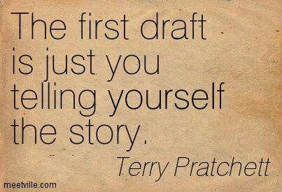 Terry Pratchett on First Drafts