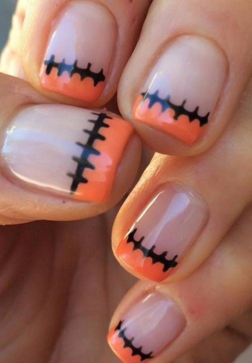 15 Easy Nail Ideas For Halloween 2019 Pics Bucket Halloween Nail Designs Halloween Nails Easy Cute Halloween Nails