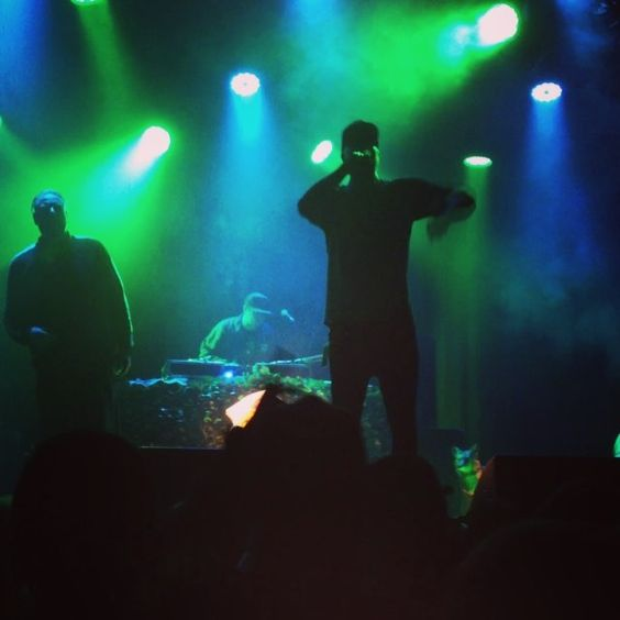 Aesop Rock, DJ Zone, Rob Sonic & Homeboy Sandman performed on Tuesday at The Catalyst