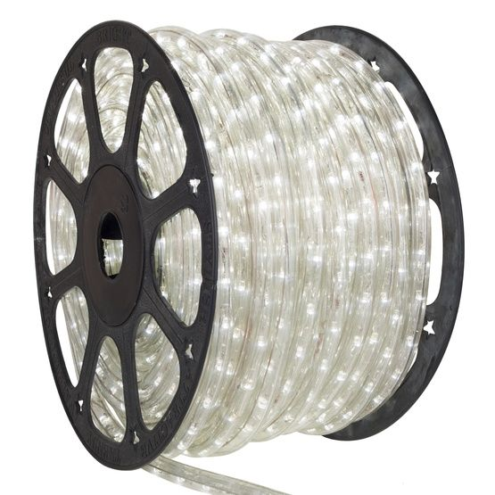 150 Cool White Led Rope Light 2 Wire 3 8 12 Volt Led Rope Lights Rope Light Led Rope