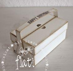 ♥ Flati s  Stempelwelt ♥: Werkzeugkasten als Partybox für Männer
