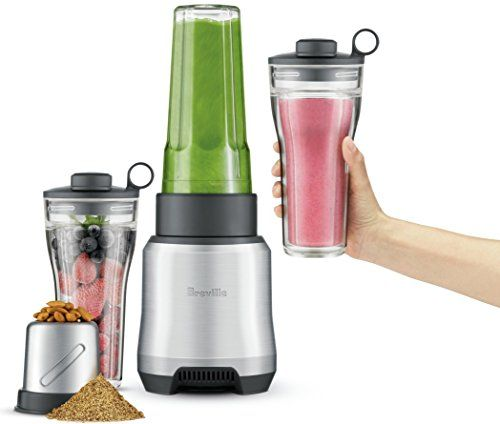 Breville Boss To Go Lots Of Power At A Moderate Price In 2020 With Images Blender How To Make Smoothies Green Smoothie Cleanse