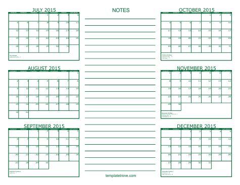 Month Of August Calendar 2014