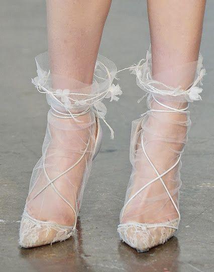 Bridal Lace Shoes