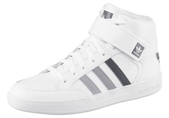 Größenhinweis , Fällt klein aus, bitte eine Größe größer bestellen., |Produkttyp , Sneaker, |Schuhhöhe , Knöchelhoch (high), |Farbe , Weiß-Grau, |Herstellerfarbbezeichnung , RUNNING WHITE, |Obermaterial , Materialmix aus Leder und Textil, |Verschlussart , Schnürung, |Laufsohle , Gummi, | ...