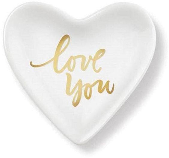 Love You Ceramic Tray ($10)