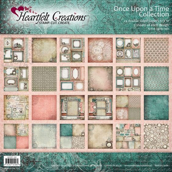 Heartfelt Creations - Once Upon a Time Paper Collection