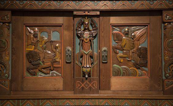 Norse Saga Room - detail