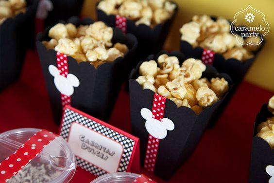Caramelo Party: Fiesta de Mickey y Minnie Mouse