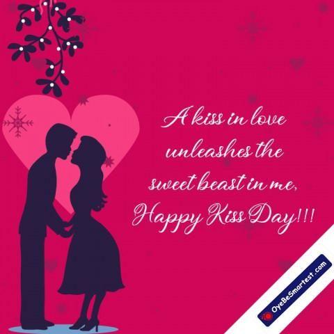 Happy Kiss Day Wish Status Greeting Image Whatsapp In 2020