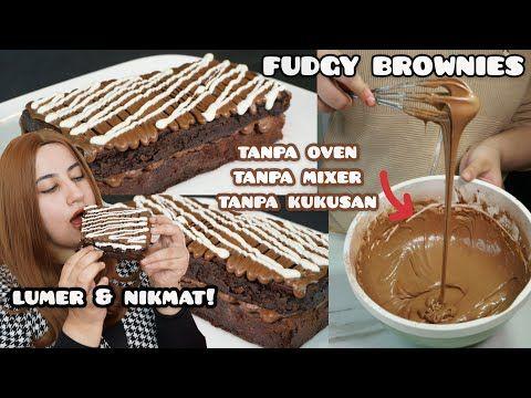 Pin Di Brownies Tanpa Di Bake