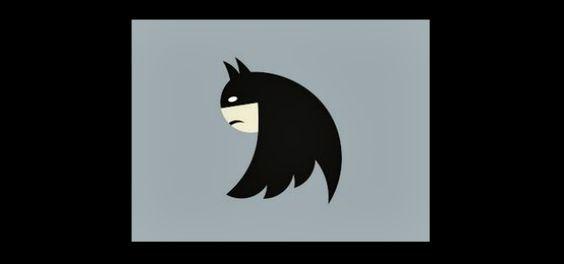 New Twitter Bird as Batman