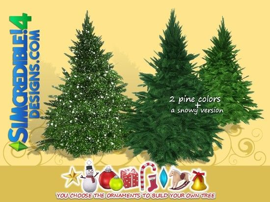 Simcredible S Build Up Your Christmas Tree Pine Large Sims 4 Updates Sims 4 Finds Sims 4 Must Haves Free Sims 4 Downl Sims 4 Sims Sims 4 Anime